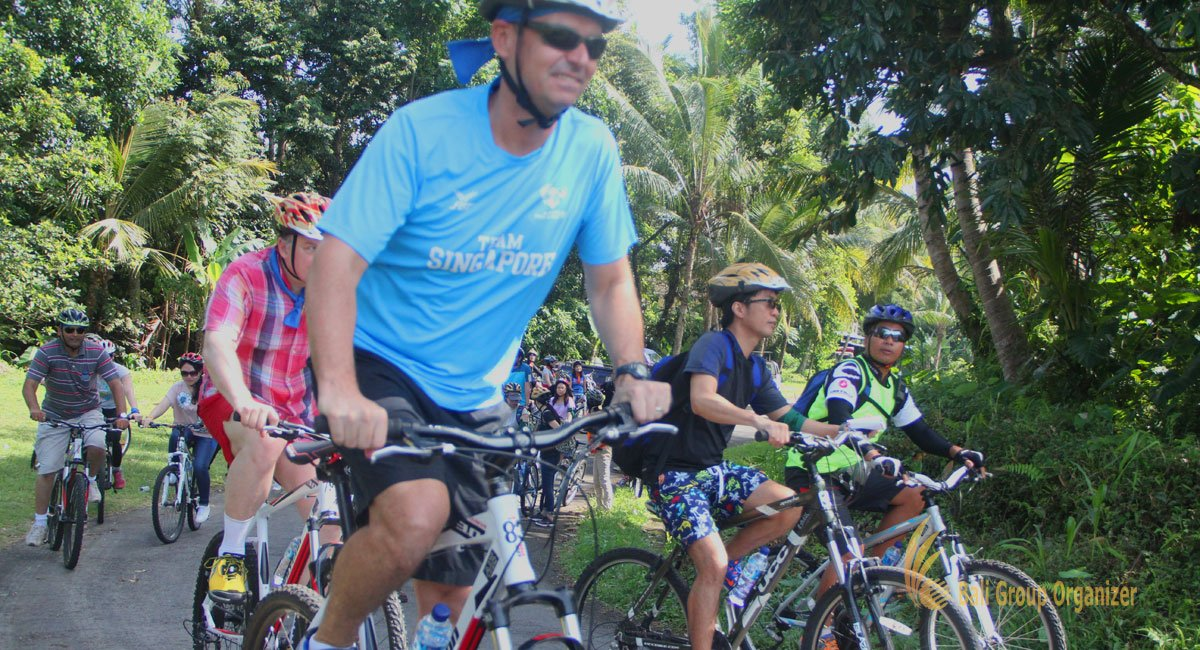 Ferring Pharmaceuticals - Cycling Treasure Hunt | Bali Cycling Trip